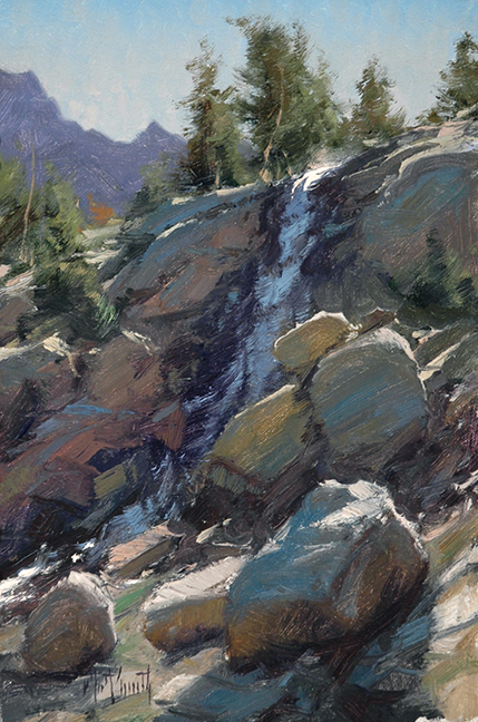 Matt Smith Artist Waterhouse Gallery Plein Air Artist